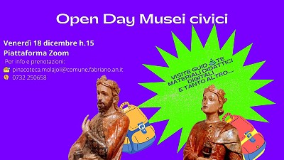OPEN DAY MUSEI CIVICI